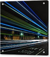Westminster Trailing Lights Acrylic Print