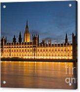 Westminster Twilight II Acrylic Print