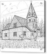 Westmore Community Church Acrylic Print