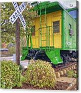 Weston Railroad Crossing Acrylic Print