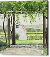 Westport Rivers Winery Acrylic Print