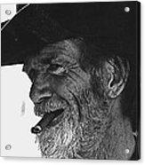Westward Ho Homage 1935 Tombstone Slim Helldorado Days Tombstone Arizona 1968-2008 Acrylic Print