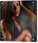 Wet 2 Acrylic Print by Jt PhotoDesign