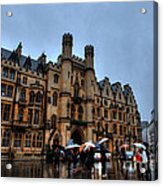 Wet And Miserable London Acrylic Print