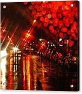 Wet City 2 Acrylic Print