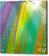Wet Paint 7 Acrylic Print