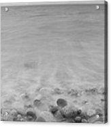 Wet Pebbles Acrylic Print
