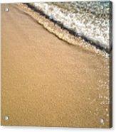 Wet Sand Acrylic Print