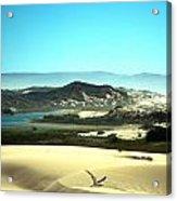 Wetlands In The Dunes Acrylic Print