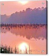 Wetlands Sunrise Acrylic Print by JC Findley