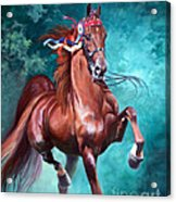 Wgc Courageous Lord Acrylic Print by Jeanne Newton Schoborg