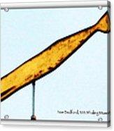 Whale Ahoy Acrylic Print