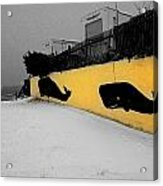 Whale Wall Acrylic Print
