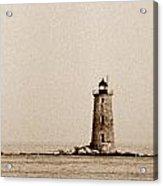 Whaleback Lighthouse Acrylic Print