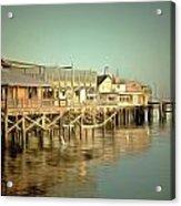 Fishermans Wharf Monterey California Acrylic Print