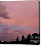 What A Skyview Acrylic Print