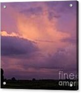 What A Skyview Two Acrylic Print