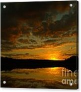 What A Sunset Acrylic Print