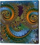 What Big Eyes You Have Acrylic Print by Doris Wood
