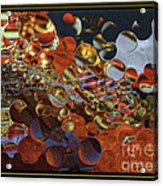 What Is Going On By Steven Langston Acrylic Print