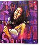 What Is Soul Aretha Acrylic Print