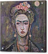 What. Love For Frida 2013 Acrylic Print