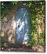 What's Behind The Gate? Acrylic Print