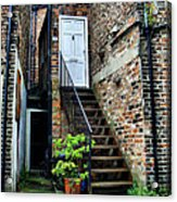 What's Behind The White Door Acrylic Print