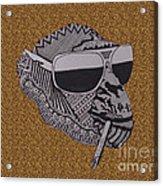 Whatssup Dawg  Leopard Acrylic Print