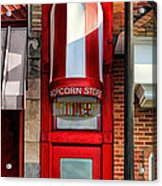Wheaton Little Popcorn Shop Panorama Acrylic Print
