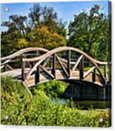 Wheaton Northside Park Bridge Acrylic Print