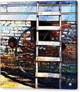 Wheel And Ladder Acrylic Print