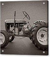 Wheel Horse Vintage Acrylic Print