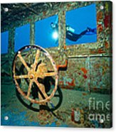 Wheel House Acrylic Print