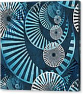 Wheel In The Sky 1 Acrylic Print by Angelina Vick