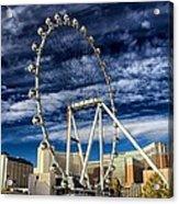 Wheel In The Sky Las Vegas Acrylic Print