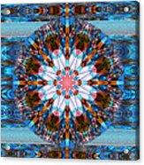 Wheel Kaleidoscope Acrylic Print