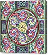 Wheel Of Celtia Acrylic Print