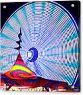 Wheel Of Light Work B Acrylic Print