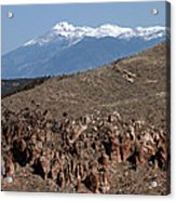 Wheeler Peak Acrylic Print