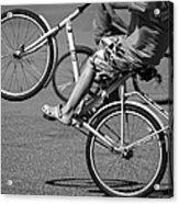 Wheelie Boys Acrylic Print