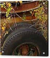 Wheels Of Autumn Acrylic Print