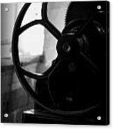 Wheels Of Production Acrylic Print