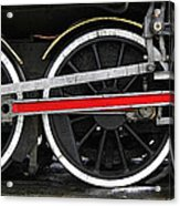 Wheels Of The Kingston Flyer Acrylic Print