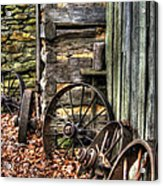 Wheels Of Time Acrylic Print by Benanne Stiens