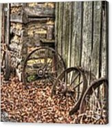 Wheels Of Time Two Acrylic Print