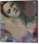 When A Dream Has Colored Wings Acrylic Print by Dorina  Costras