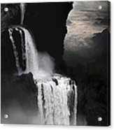 When Darkness Falls Acrylic Print