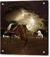 When Lightning Strikes Acrylic Print