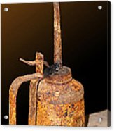 When Rust Is A Must Acrylic Print